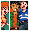 Reunion icon/pixelart