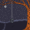 Lone Tree icon/pixelart