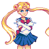 In the name of the Moon icon/pixelart