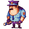 Security Guy icon/pixelart