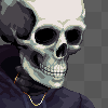 Self portrait icon/pixelart