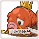 Magikarp used splash! icon/pixelart