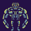Rock Golem icon/pixelart
