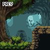 simple Forest environment icon/pixelart