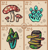Shroom codex icon/pixelart
