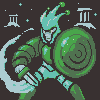 SQUIRE KNIGHT - BABEL icon/pixelart