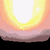 Sunset icon/pixelart