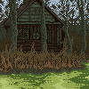 Swamp icon/pixelart
