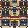 tea house icon/pixelart