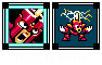 Tesla Man Weekly Challenge Mega Man 2 Boss icon/pixelart