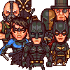 The Gotham (24 characters) icon/pixelart