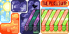 the pixel shop banner icon/pixelart