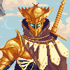 Golden Knight icon/pixelart