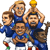 worldcup2018 icon/pixelart