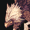 Griffin icon/pixelart