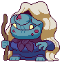Troll Witch icon/pixelart