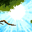Vegetation icon/pixelart