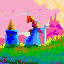 The wizard and the mage icon/pixelart