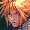Cloud Strife/pixelart