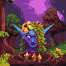 The forest's keeper icon/pixelart