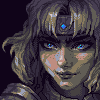 Enchantress/pixelart