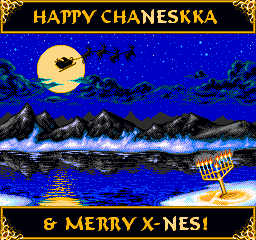 2008 NES-Style Holiday Card