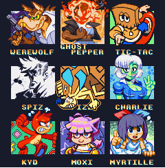 Pixel Your Friends' OCs II