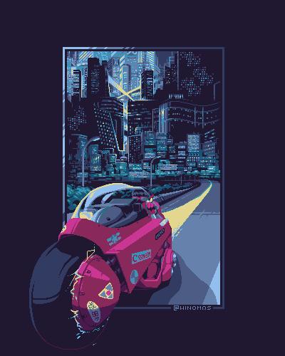 Akira/pixelart