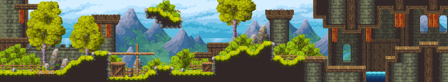 Kingdom Fortress/pixelart
