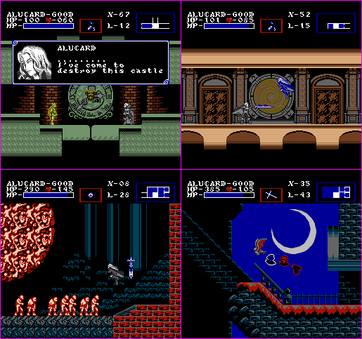 Castlevania: Symphony of the Night - NES Edition 3
