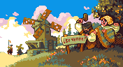 Windmill For Sale/pixelart