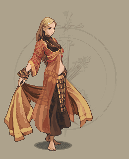 Dancer Remade/pixelart