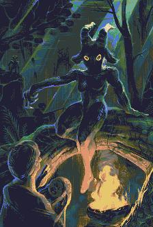 dark mother/pixelart