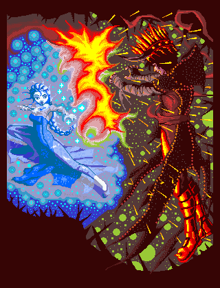 Don't Let Go: Queen Elsa vs. The Fire King