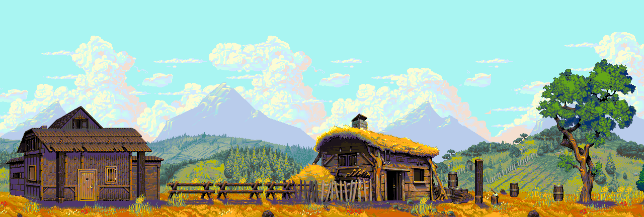 Farmland game art