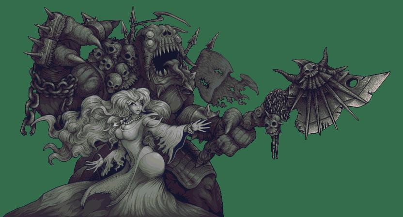 Beauty and the Beast/pixelart