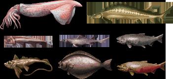 Underwater life/pixelart
