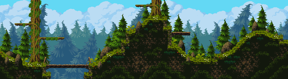 Hight Forest/pixelart