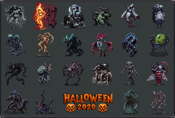 Halloween 2020/pixelart