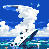 unidentified cat object/pixelart