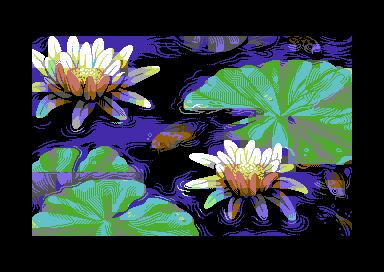 Water lilies/pixelart
