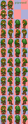 My old link (many sprites)