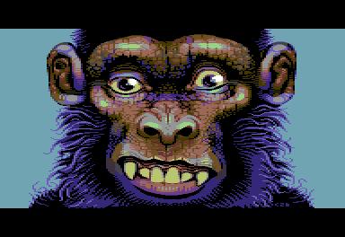 Manky Monkey/pixelart