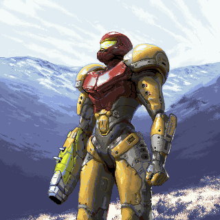 Metroid - Samus/pixelart