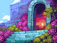 Portal/pixelart