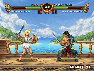 Soul Calibur demake