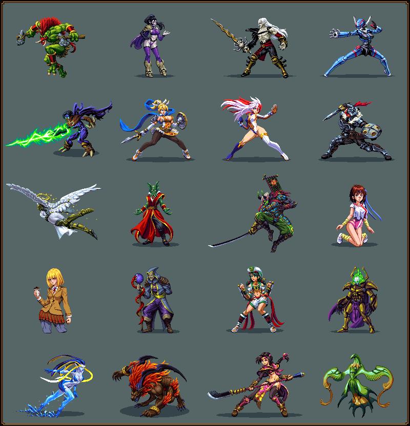 Random Sprite Dump 4/pixelart