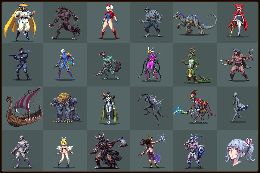 Random Sprite Dump 8/pixelart