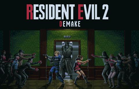 Resident Evil 2 Demake/pixelart