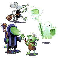 RPG Party/pixelart